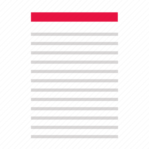 document, file, layout, page icon