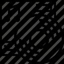album, audio, media, production, video icon