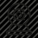 video camera, webcam icon