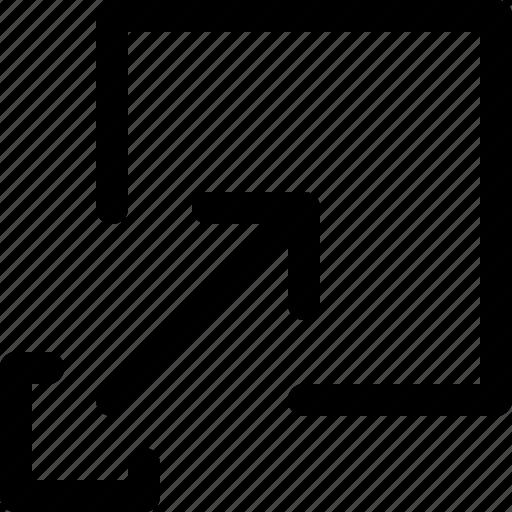 full, resize icon