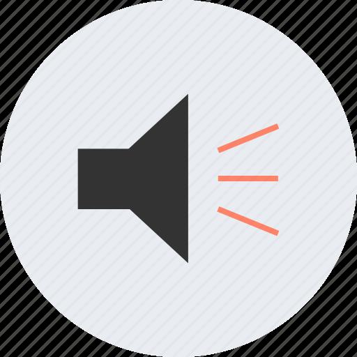 audio, device, listen, multimedia, music, speaker icon