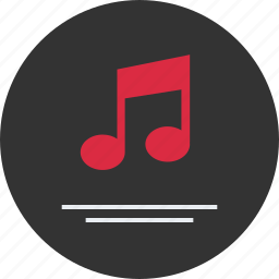 list, listen, music, note, play, player icon