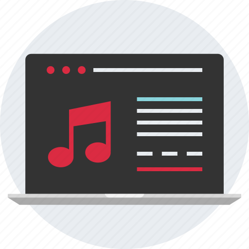 compose, create, creating, editing, music, player icon