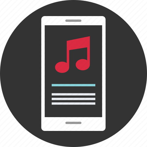 audio, device, mobile, music, play, player icon