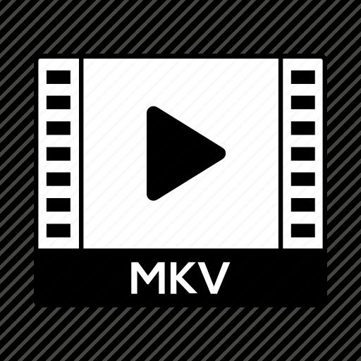 film, format, mkv, movie, video icon