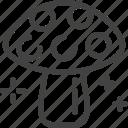 game, item, mushroom, power up, video icon