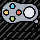 bluetooth, controller, game, gamepad, wireless icon