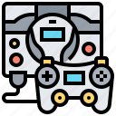console, device, display, game, visual icon