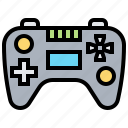 controller, device, game, joystick, wireless icon