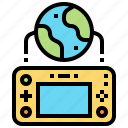 controller, electronic, game, internet, online icon