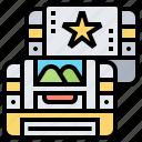 cartridge, game, play, portable, retro icon