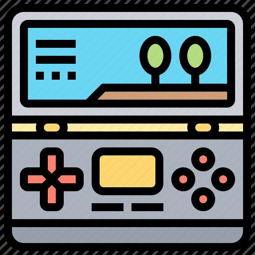 console, controller, fun, game, keypad icon