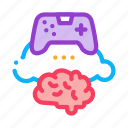 app, brain, cloud, developing, game, phone, video