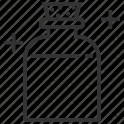 bottle, health, mana, medicine, potion icon