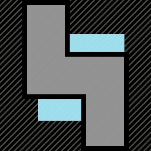 brick, gaming, retro, tetris icon