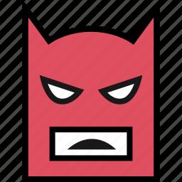 gaming, lego, mask, retro icon