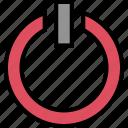 gaming, retro, turnon icon