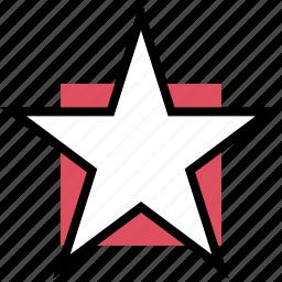 favorite, gaming, retro, star icon