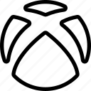 game, logo, video, xbox icon