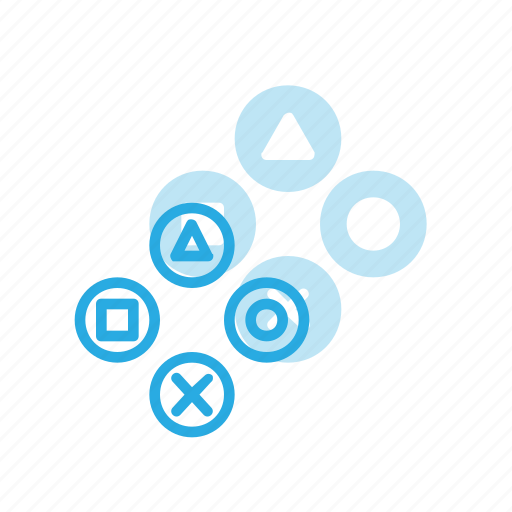 buttons, consol, game, play, video icon