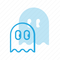 game, ghost, pacman, play, video icon