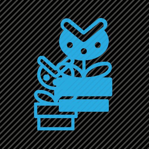 game, mario, piranha, plant, play, video icon