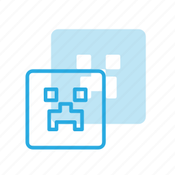 game, minecraft, play, video icon
