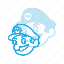 game, mario, play, super, video icon