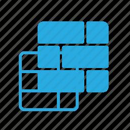 brik, game, play, video, wall icon