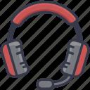 audio, game, headphone, media, music, sound