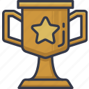 award, cup, medal, prize, reword