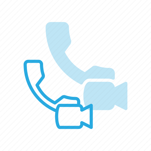 call, conference, meeting, online, video icon