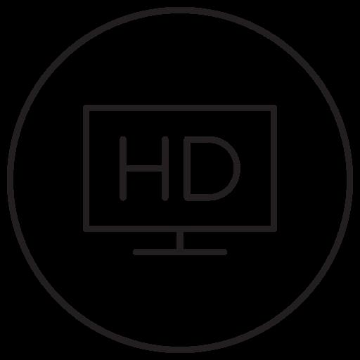 desktop, display, full hd, hd, screen, television, tv icon