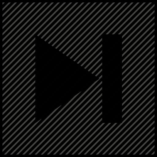 arrow, arrows, line, lines, next, player, video icon