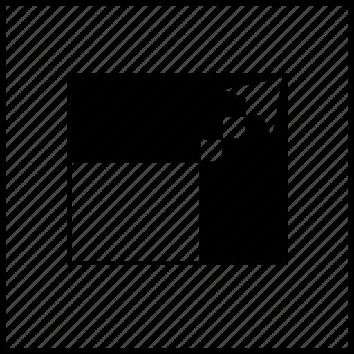 arrow, arrows, box, fullscreen, player, video icon