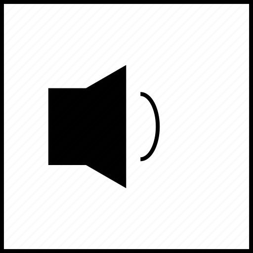 box, low, player, video, volume icon