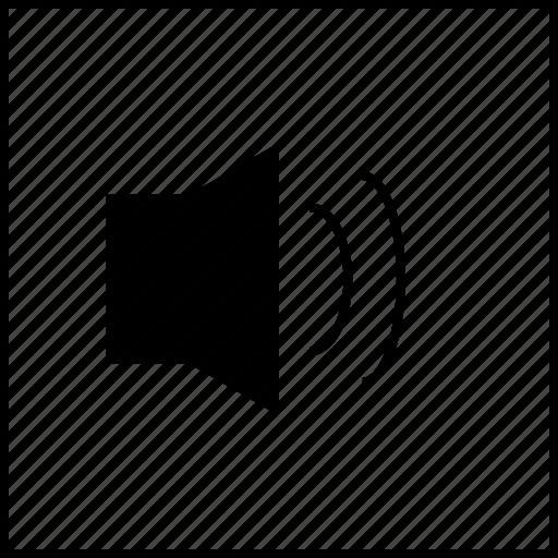 box, medium, player, video, volume icon