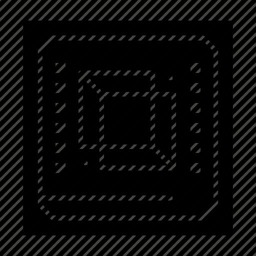 Chip, computer, cpu, hardware, processor icon - Download on Iconfinder