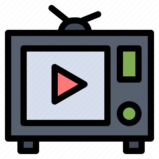 film, tv, video icon
