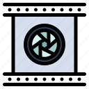camera, lens, lenses, objective, optical, photographic, special icon