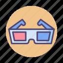 3d, 3d glasses, glasses