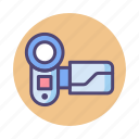 camcorder, camera, filming, photography, videography icon
