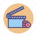 budget, film, film budget, movie budget icon
