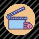 budget, film, film budget, movie budget icon