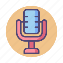 audio recording, mic, microphone, record, recording, voice message, voice recording icon