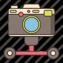 slider, photography, camera, dolley