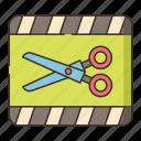 clip, editing, montage, scissor