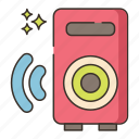 audio, music, sound, speakers icon