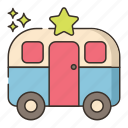 artist, star, trailer, vehicle icon