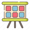 film, movie, scenes, storyboard icon